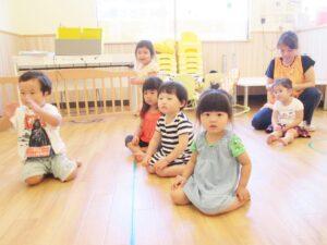 保育園ちびっこランド七里園園児たち写真