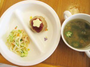給食 七夕の特別メニュー写真