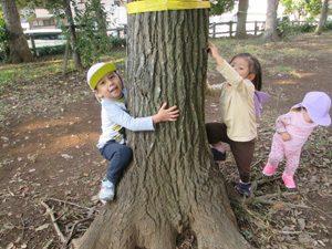 ちびっこらんど七里園 保育園 外遊び写真