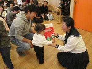 ちびっこらんど七里園 保育園 クリスマス会写真