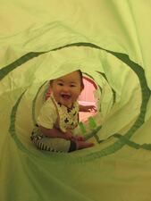 ちびっこらんど七里園 保育園 室内遊び写真