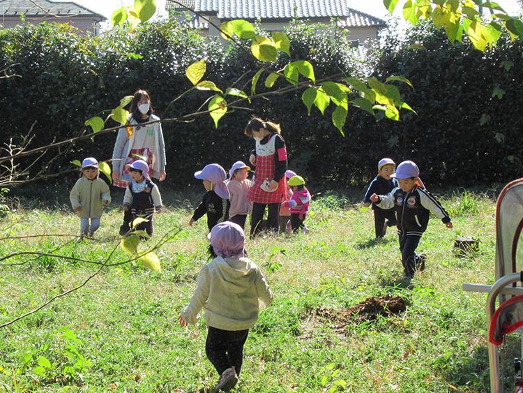 ちびっこらんど七里園 保育園 ピクニック写真