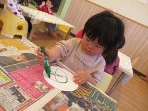 ちびっこらんど七里園 保育園 1歳児 制作写真