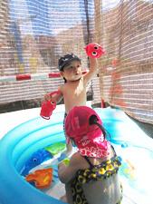 ちびっこらんど七里園 保育園  こども遊びプール写真